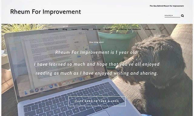 📣 Rheum For Improvement is 1 year old and also has a new look! 📣  These 12 months have flown by and so much has happened. Starting this website was a bit of a gamble but I am so glad that I did it and I have learned so much.  Being poorly, going through lots of lifestyle and medication changes, meeting new people and being given lots of feedback about my writing, sharing things in my life and making a whole career change are just a few of the things I have shared on this website.  The post link in my bio is a round-up of the year gone by and what I want to achieve next!  Thank you all for your wonderful support. H, xx . . . #RheumForImprovement #Website #1YearOld #OneYearOn #Birthday #Blogging #Blog #BlogPost #Health #Wellbeing #Eating #Moving #LifestyleMedicine #Lifestyle #Support #LifestyleChanges #Writing #Education #Hobbies #Medication #RheumatoidArthritis #ARUK #AutoimmuneDisease