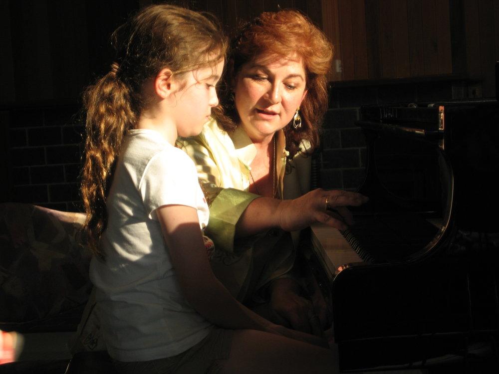 Diana Teaching Child.JPG