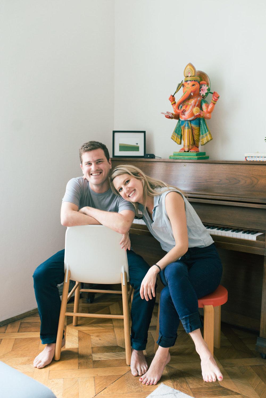 Above, Jeff & Samantha Steitz.