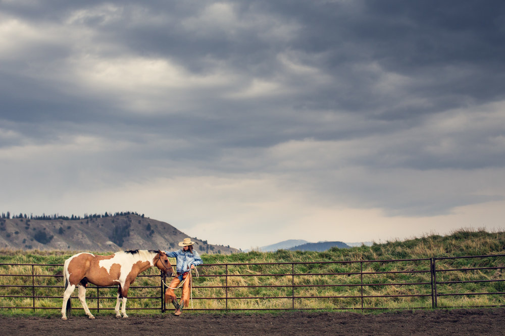 NOTHING CLEARS THE MIND LIKE A MOUNTAIN RANCH -