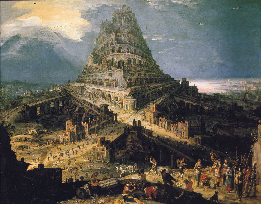 Building Of The Tower Of Babel, Hendrick van Cleve III, About 1525 - 1589