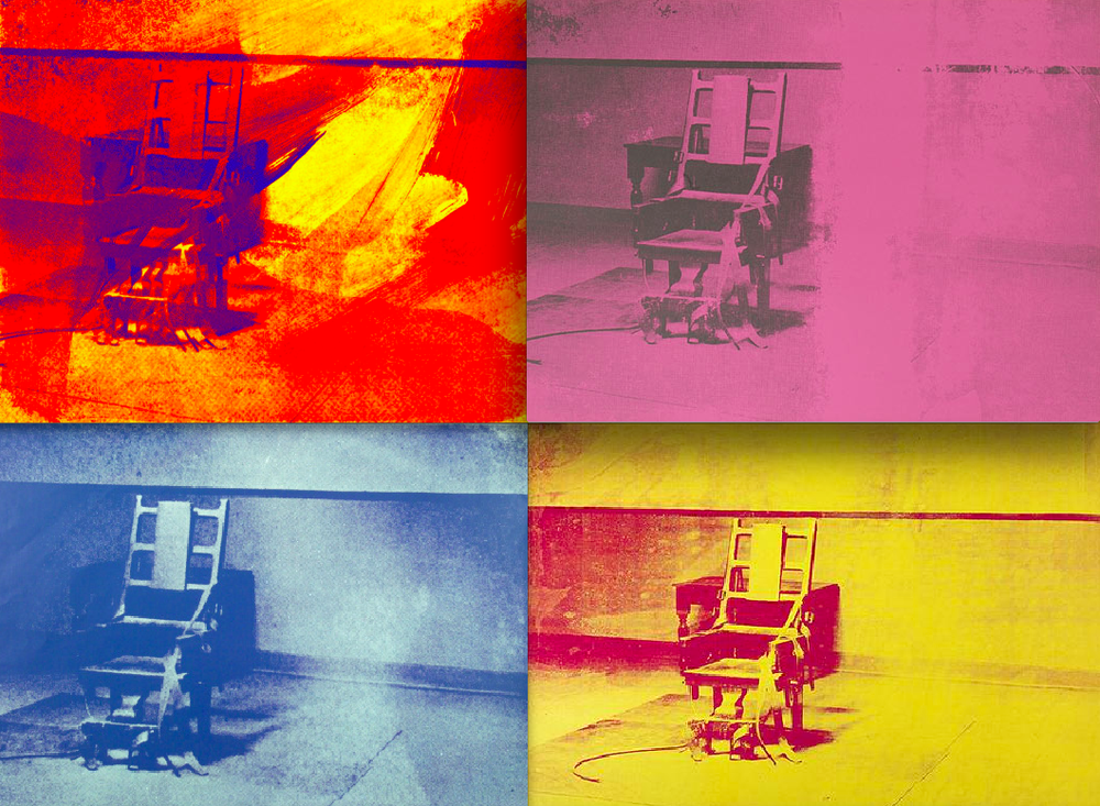 Electric Chairs Series, Andy Warhol, 1971