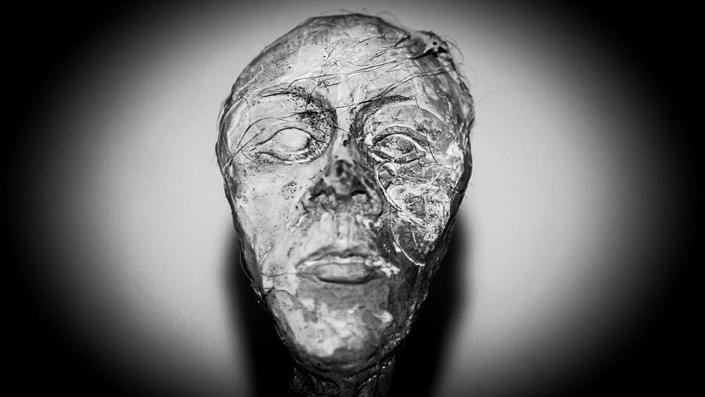 A statue made by the fabulous Katarzyna Horzela
