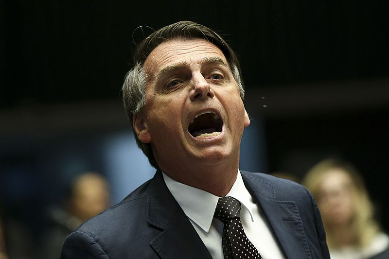 Jair Bolsonaro. Image by Marcelo Camargo, Agência Brasil , 14 September 2016.