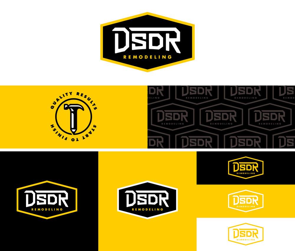 DSDR Remodeling Branding