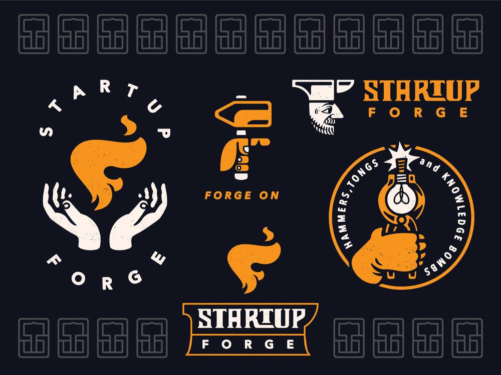 Startup Forge Branding System