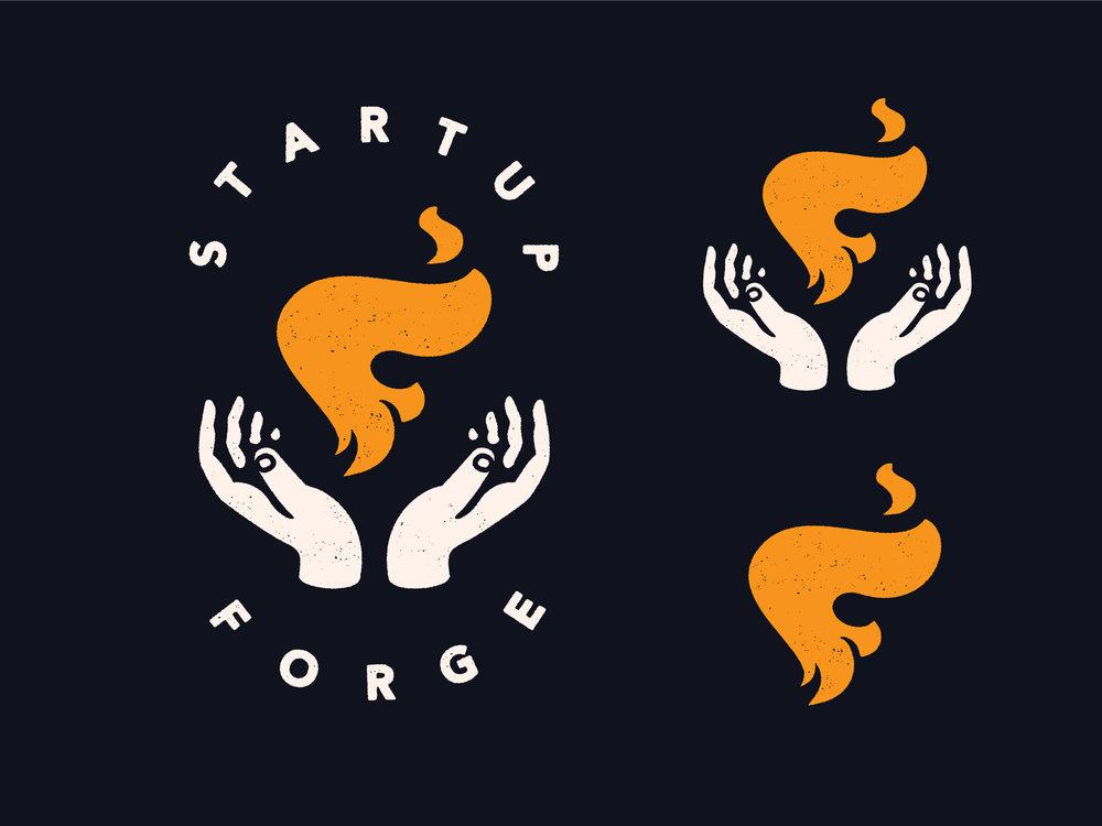 Startup Forge Branding : Primary Logo