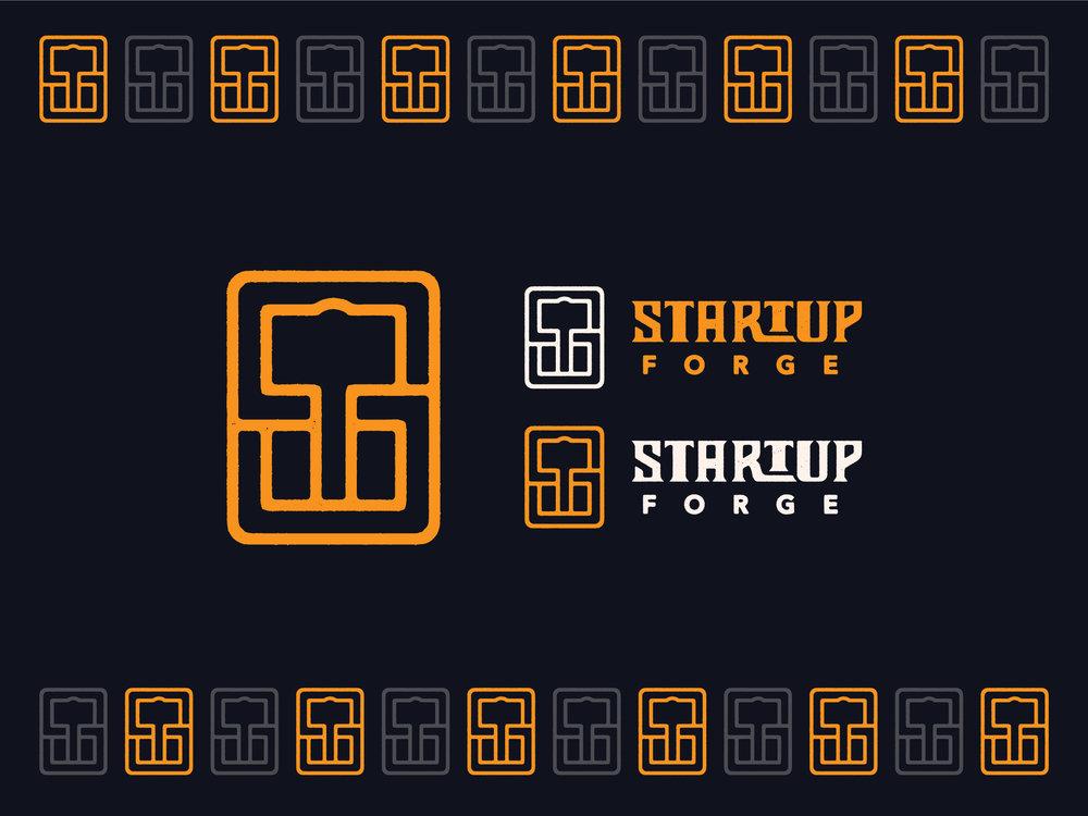 Startup Forge Branding : Monogram