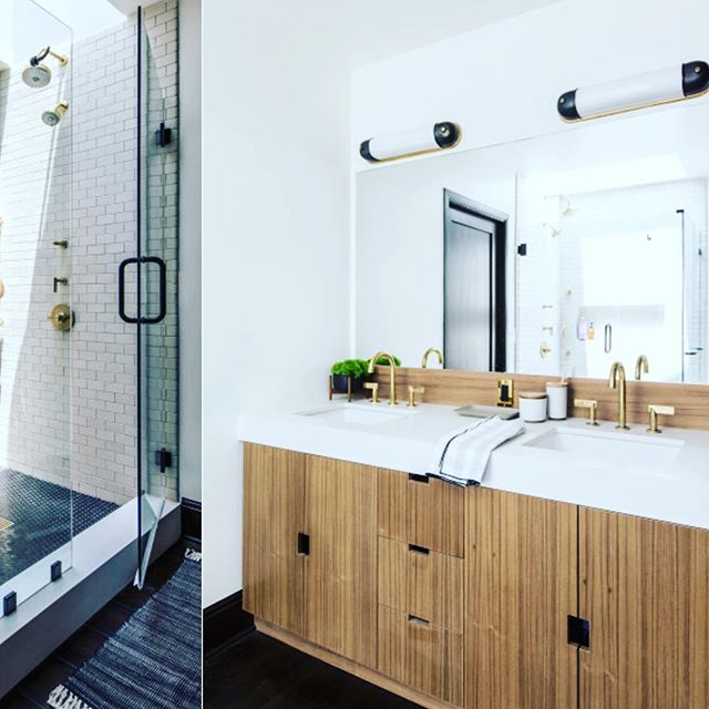 bathroom goals/lust.  starting your day with serenity is a must. 📷@laurejoliet 📐@brian.paquette.interiors . . . #bathroom #serene #calm #skincare #clean #beauty #nature #design #sensual #beargrass #greenbeauty #grooming #healthy #naturalskincare #losfeliz #style #love