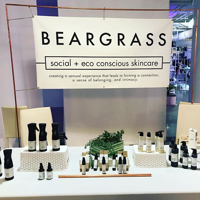 Thank you to @indiebeautyexpo for having us, and all the amazing connections we made at #ibela2018 🌸 we loved having something meaningful to share with all who attended. proud to be part of a kind, supportive and beautiful community. . . . . #skincare #naturalbeauty #naturalgrooming #unisex #organicskincare #indiebeauty #grooming #smallbatch #handcrafted #beauty #clean #beargrass #cleanbeauty #dtla #buylocal #eco #veganskincare #vegan #louisville #kentuckyproud #bcorp #sustainable #sustainableliving #minimalism #buylesschoosewell