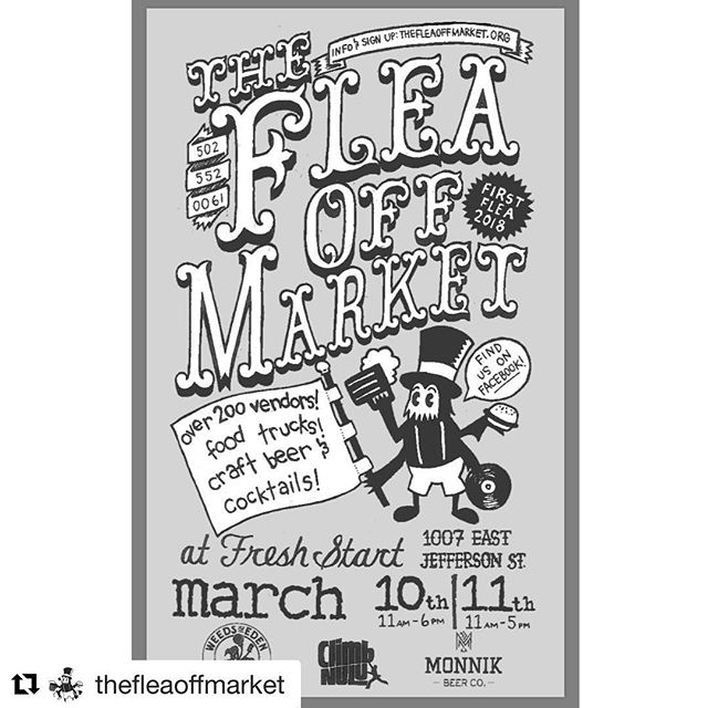 Pick up a jar of the all N E W  Activated Charcoal Teeth Whitening Powder this weekend #Repost @thefleaoffmarket ・・・ 💥First Flea 2018💥THIS WEEKEND!!! It's gonna be a beautiful day tomorrow. We'll see all y'all down there 🖤🖤
