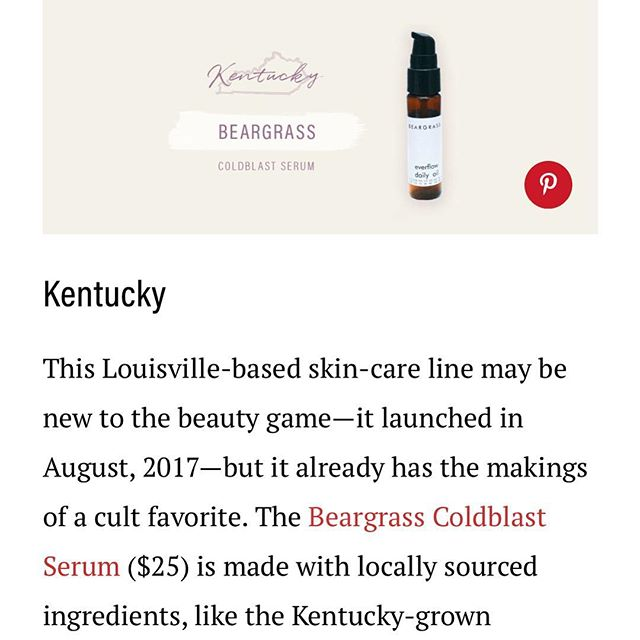From the highly esteemed blog on all things natural @iamwellandgood we are humbled to be included on this list with so many incredible brands. Go indie! Buy local!