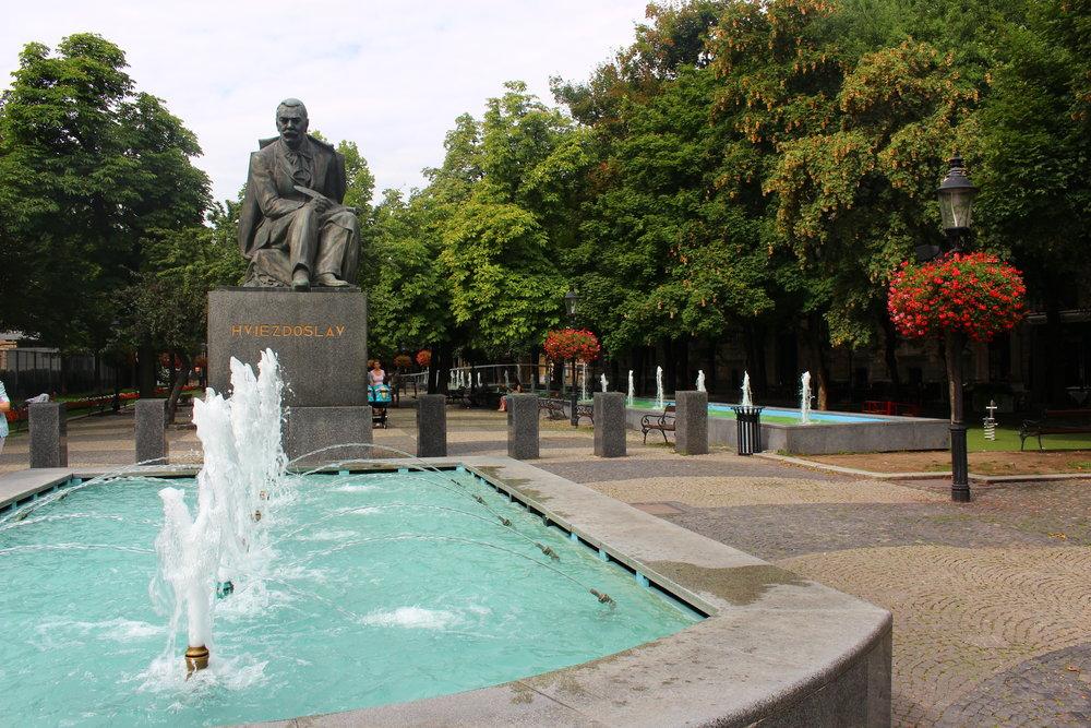 Statue of Pavol Országh Hviezdoslav, Bratislava, Slovakia
