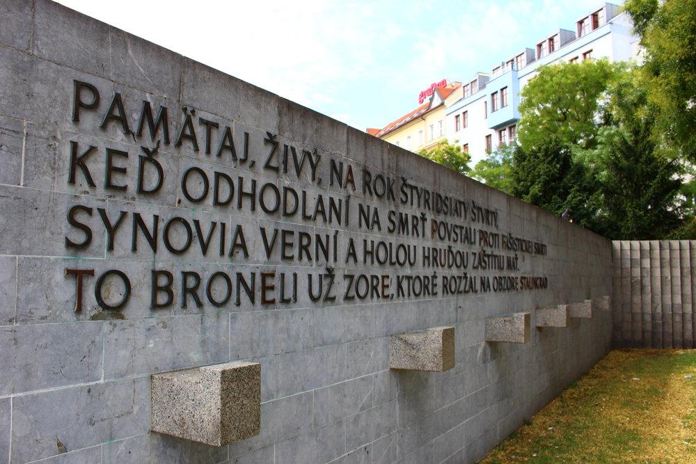 Slovak National Uprising Square (Braitslava, Slovakia)