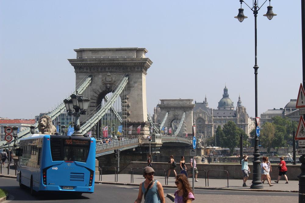 Chain Bridge (Budapest, Hungary)