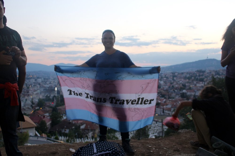 Travelling While Trans Through the Balkans (Sarajevo)