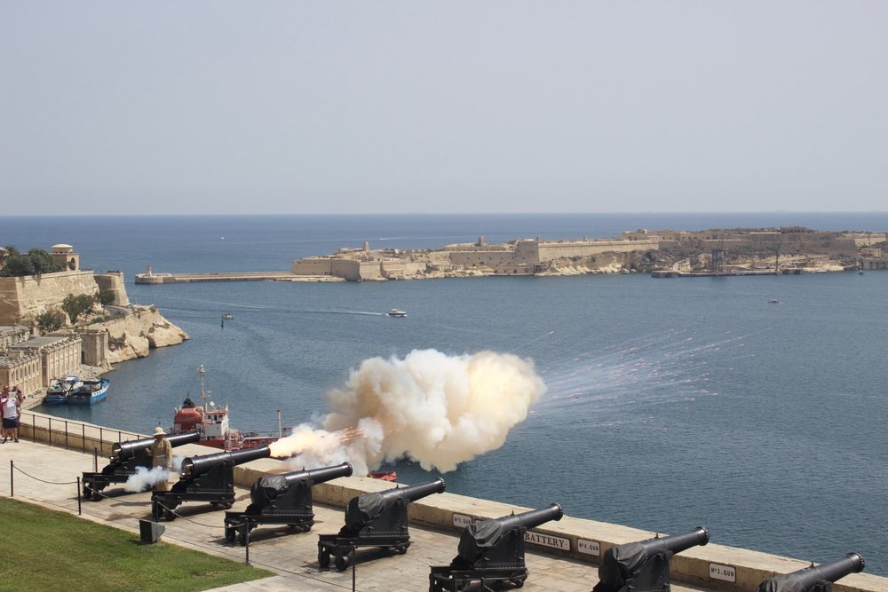 Cannon Firing Valletta