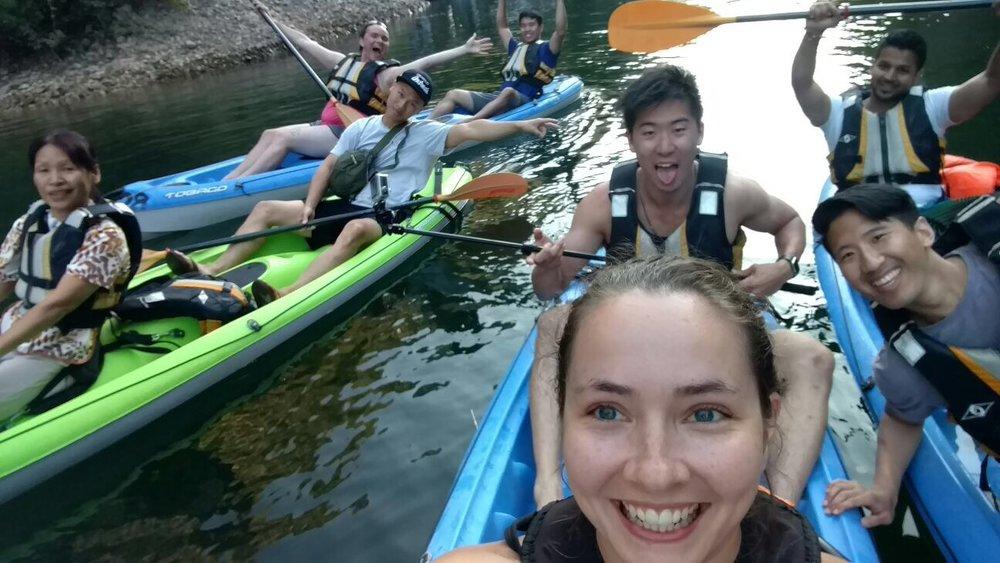 Kayaking in Macedonia