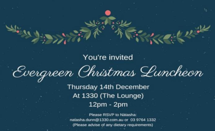 Evergreen Christmas Luncheon