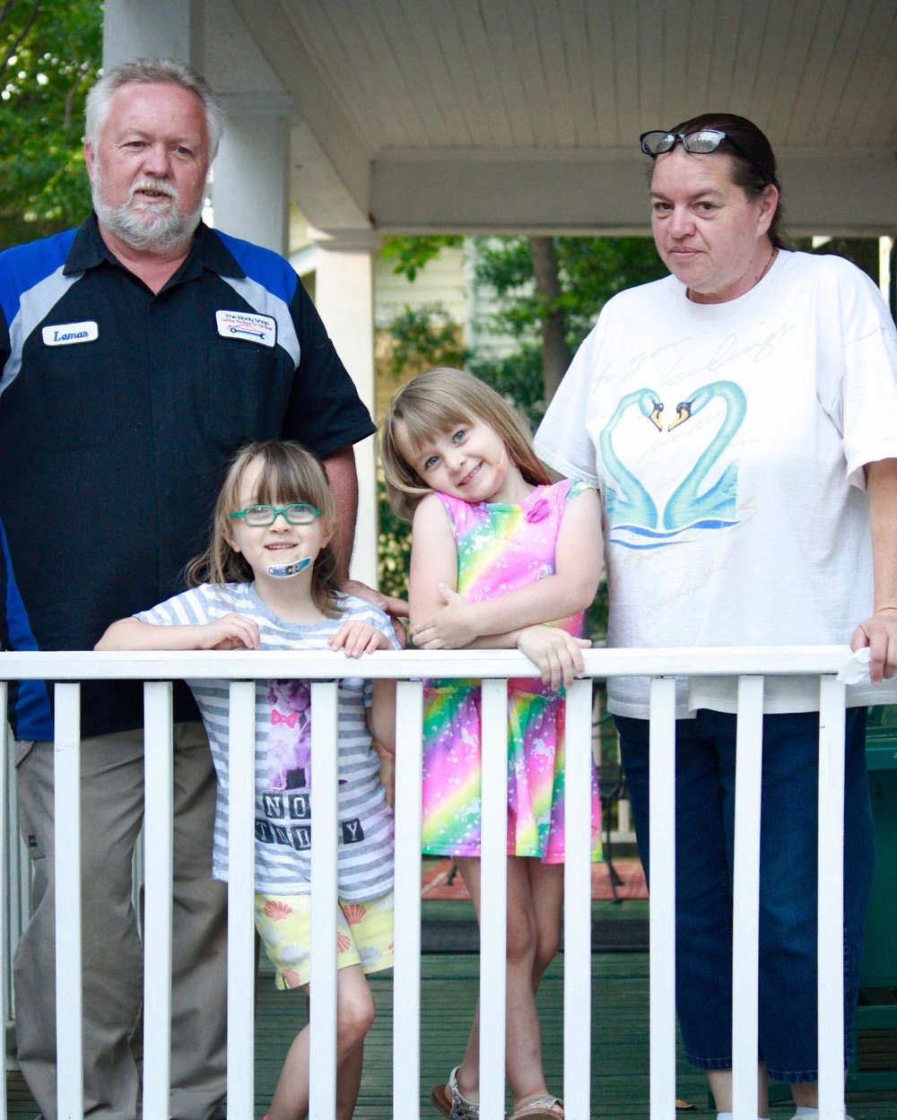 The Proctors were one of several families to participate in Children's Place's Strengthening Families program.