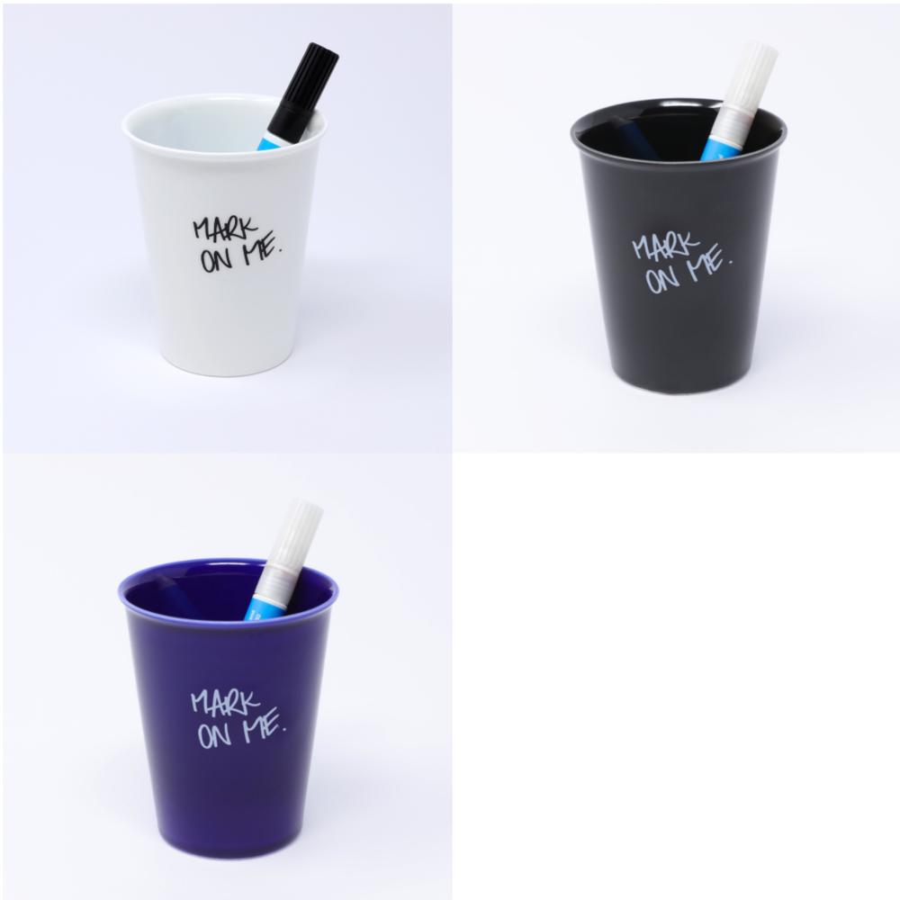 Sketchy cup + Glaze pen - Permeant. Dishwash safe£22.00