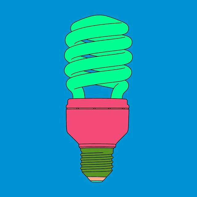 """The information is in the viewer."" Michael Craig-Martin . . Untitled (light bulb Michael Craig-Martin:) . #offdninspo #artinspo"