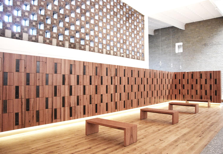 Architekt Rheine kolumbarium st michael rheine behet bondzio architekten