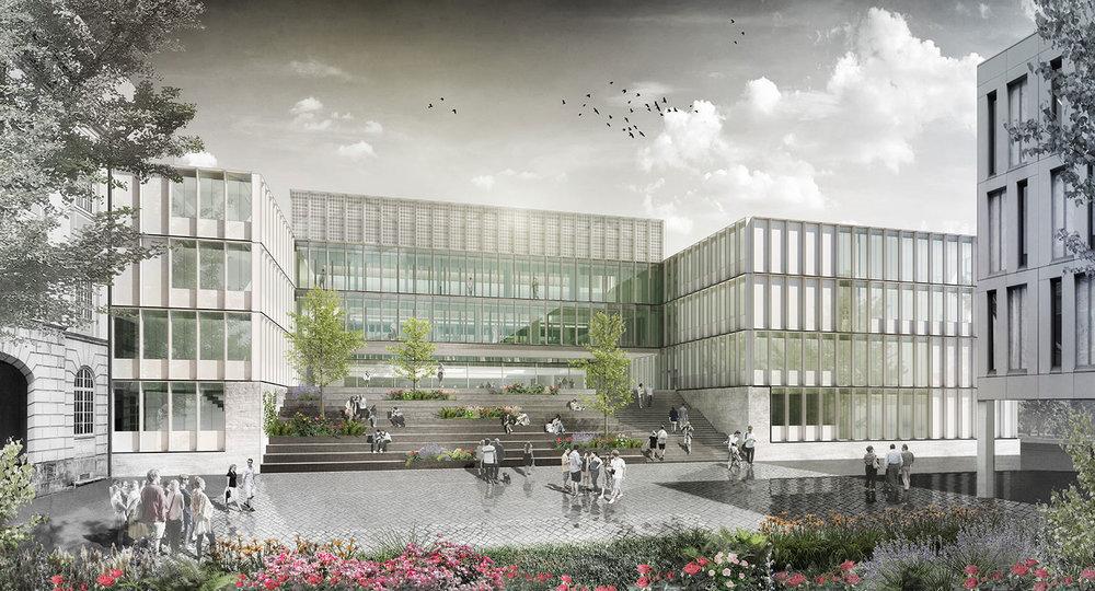 Architekten Dresden neubau lehr und laborgebäude htw dresden behet bondzio