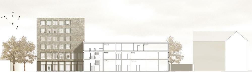 Architekten Mönchengladbach neubau bildungsstätte der kreishandwerkerschaft mönchengladbach