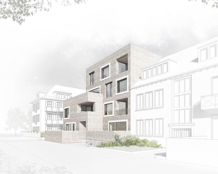 Münster Architekten neubau mehrfamilienhaus am aasee münster behet bondzio