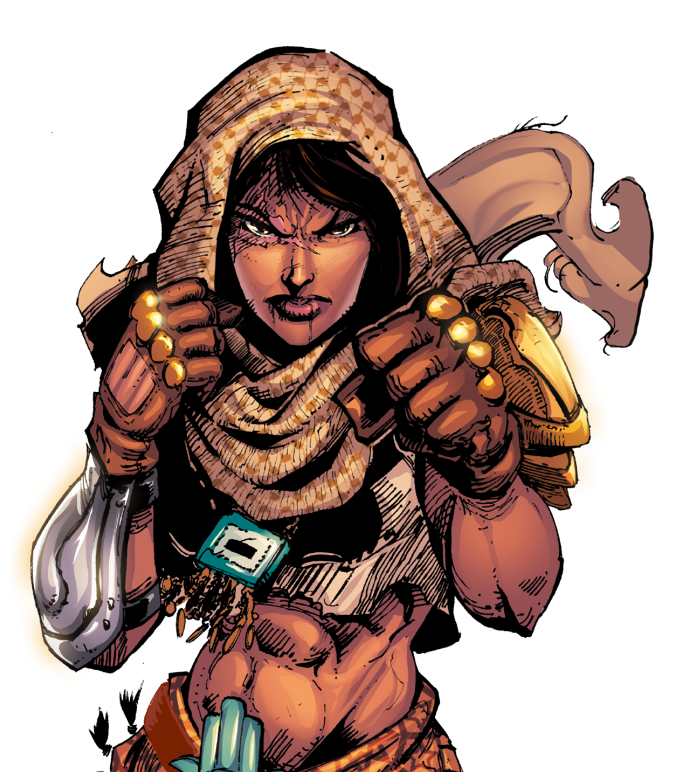 LATIFA - One woman vs hordes of frenzied mutants… You know where to place your bet.
