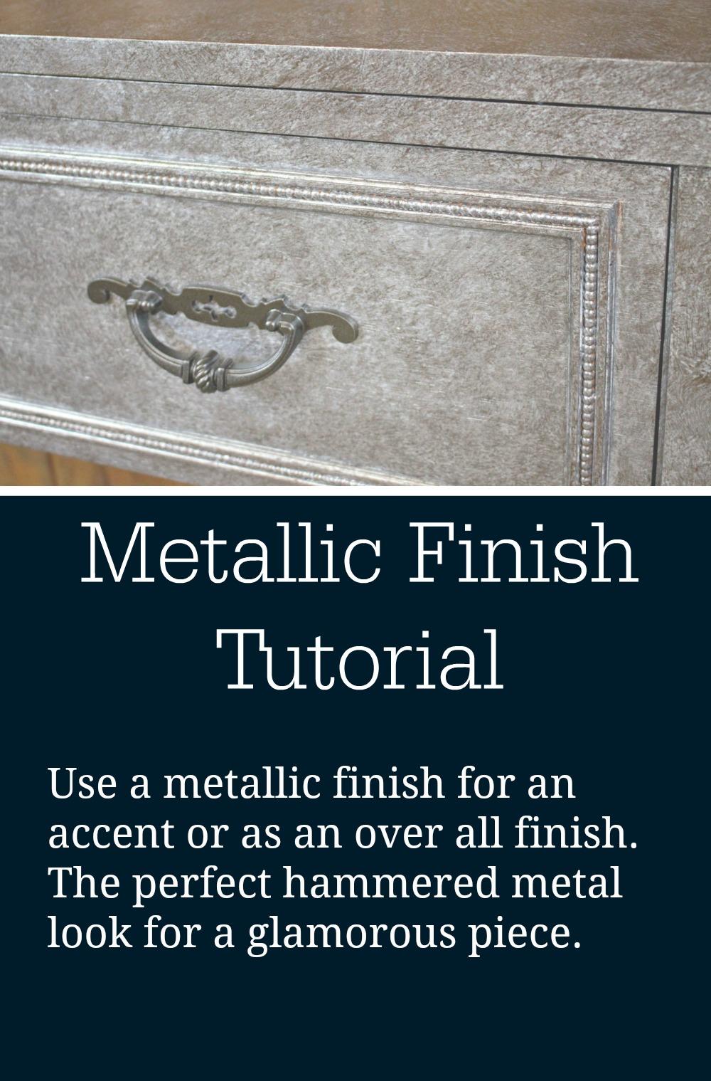 metallic class title