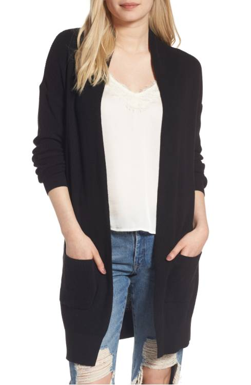 BP Lightweight Rib Stitch Cardigan $49