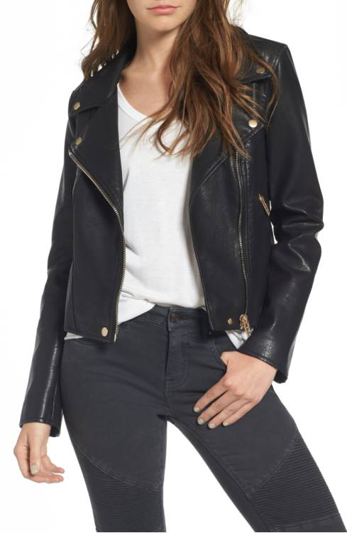 BLANKNYC Life Changer Moto Jacket $98