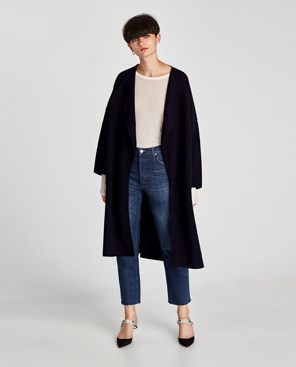 Zara Oversized Coat $119