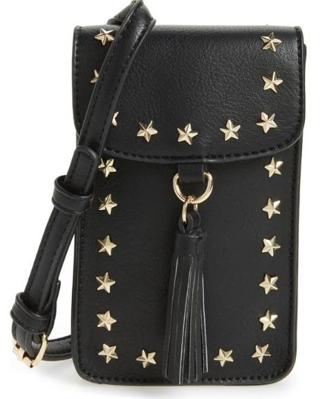 BP. Studded Faux Leather Phone Crossbody Bag $24
