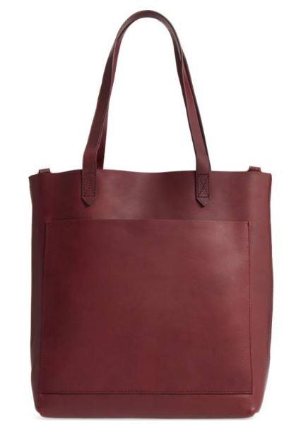 Madewell Medium Leather Transport Tote $158