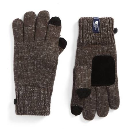 The North Face Etip Salty Dog Knit Tech Gloves $32.50