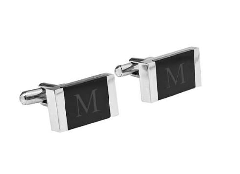 Cathy's Concepts Monogram Cuff Links $44