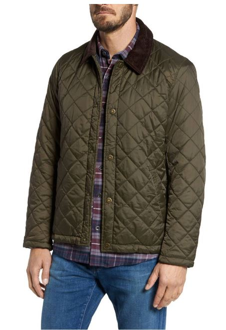 Barbour Holme Quilted Water-Resistant Jacket $249