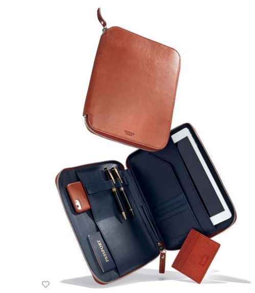 Shinola Embossed Tech Portfolio Case $395