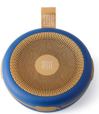 Stelle Audio Navy Blue/Gold Go-Go Wireless Speaker $129