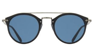 Oliver Peoples Remick Vintage Brow-Bar Sunglasses $470
