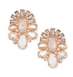 Kendra Scott Huckaby Crystal Statement Earrings $135
