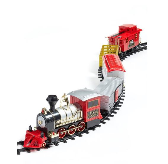 FAO SCHWARZ 75-Piece Train Set $100