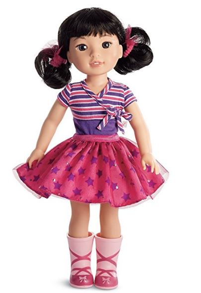 American Girl Wellie Wishers Emerson Doll $60