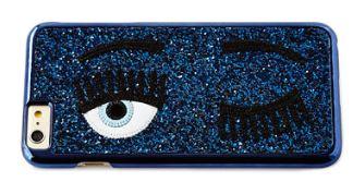 Chiara Ferragni Winking Eye Glitter iPhone® 7 Case $56