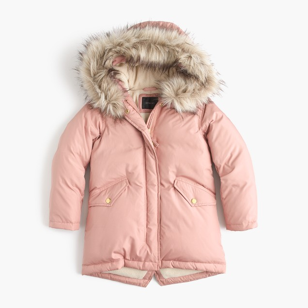 J. Crew Girls' puffer parka $148  25% OFF FULL PRICE W/ CODE CHACHING