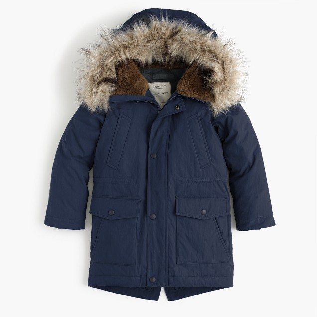J.Crew Boys' fishtail parka $148  25% OFF FULL PRICE W/ CODE CHACHING