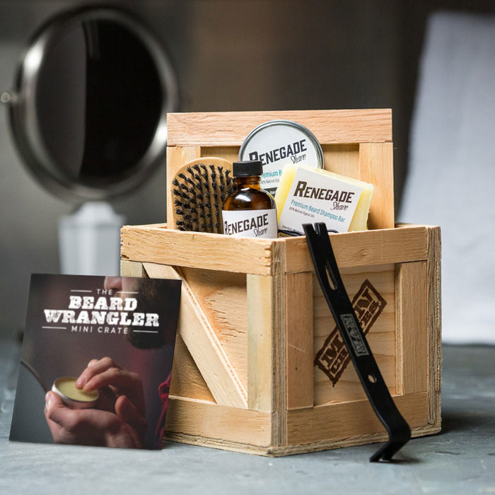 Man Crate Beard Wrangler $70